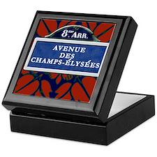 Champs Elysee Art Deco Keepsake Box