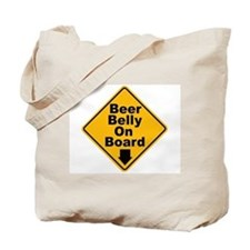 Beer Drinkers Beer Belly Tote Bag