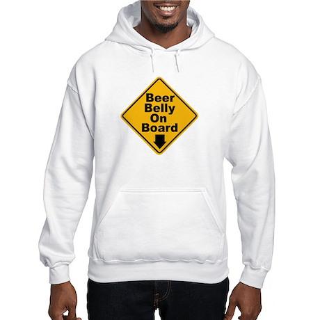 Beer Drinkers Beer Belly Hooded Sweatshirt