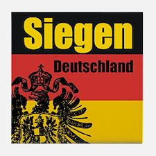 Siegen Deutschland  Tile Coaster