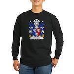 Gwynn Family Crest Long Sleeve Dark T-Shirt