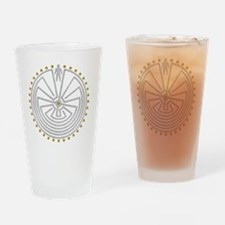 Unique Folklore Drinking Glass