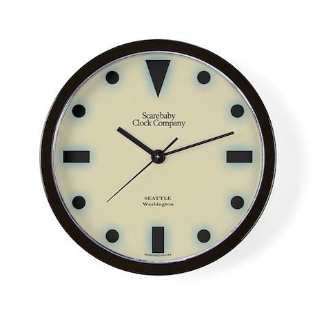 Classic Geometric Style Wall Clock