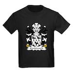 Gwdinwch Family Crest Kids Dark T-Shirt