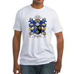Gwarin Family Crest Fitted T-Shirt