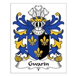 Gwarin Family Crest Small Poster