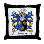 Gwarin Family Crest Throw Pillow