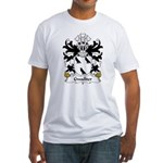 Gwallter Family Crest Fitted T-Shirt