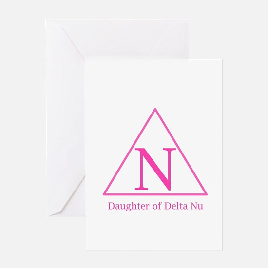 Daughter of Delta Nu Greeting Cards