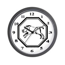 Year Of The Pig Wall Clock