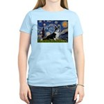 Starry Night / Welsh Corgi(bi Women's Light T-Shir