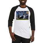 Starry Night / Welsh Corgi(bi Baseball Jersey