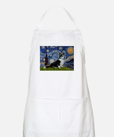 Starry Night / Welsh Corgi(bi Apron