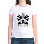 Grimsditch Family Crest Jr. Ringer T-Shirt