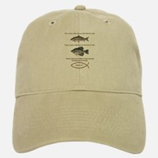 Gone Fishing Christian Style Baseball Baseball Cap