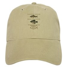 Gone Fishing Christian Style Baseball Cap