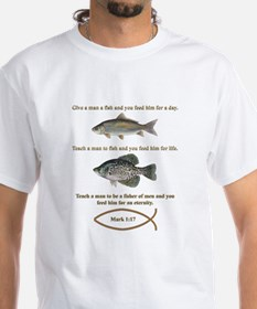 Gone Fishing Christian Style Shirt