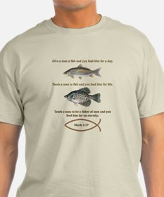 Gone Fishing Christian Style T-Shirt