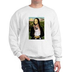 Mona Lisa / Welsh Corgi(p) Sweatshirt