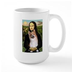Mona Lisa / Welsh Corgi(p) Mug