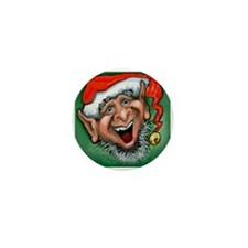 Cute Santa's elves Mini Button