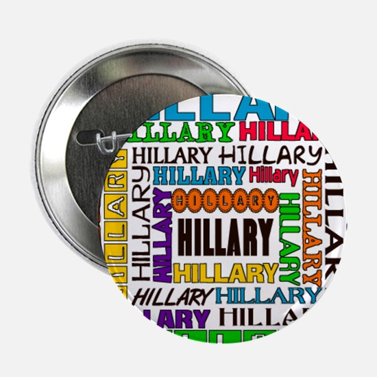 "HILLARY 2.25"" Button"