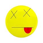 """Dead face 3.5"""" Button (100 pack)"""