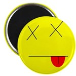 "Dead face 2.25"" Magnet (10 pack)"