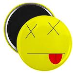 "Dead face 2.25"" Magnet (100 pack)"