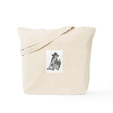 Goofy Wolf Tote Bag