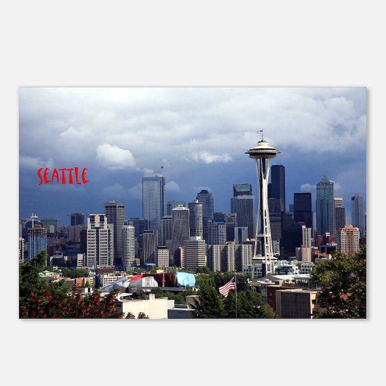 Cute Seattle souvenir Postcards (Package of 8)