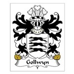 Gollwyn Family Crest Small Poster