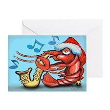 Unique New orleans crawfish Greeting Card