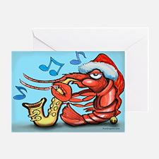 Cute Crawfish Greeting Card