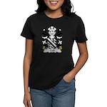 Gold Family Crest Women's Dark T-Shirt