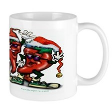 Cute Scoville heat scale for chili peppers Mug