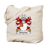 Gloucester Family Crest Tote Bag