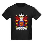 Garnons Family Crest Kids Dark T-Shirt