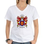 Garnons Family Crest Women's V-Neck T-Shirt