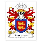 Garnons Family Crest Small Poster