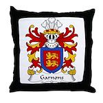 Garnons Family Crest Throw Pillow
