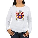Garnons Family Crest Women's Long Sleeve T-Shirt