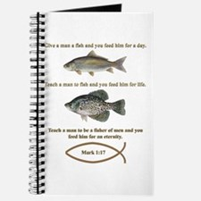 Gone Fishing Christian Style Journal