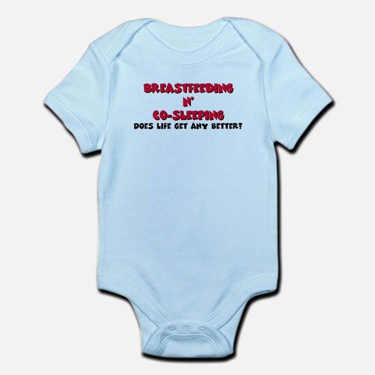 Breastfeeding co-sleeping Infant Bodysuit