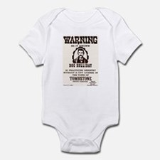 Doc Holliday Infant Bodysuit
