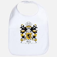 Flint Family Crest Bib