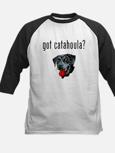 Catahoula Leopard Dog Kids Baseball Jersey