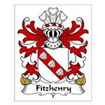 Fitzhenry Family Crest Small Poster