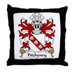 Fitzhenry Family Crest Throw Pillow