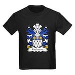 Fitzharry Family Crest Kids Dark T-Shirt